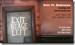 Exit Stage Left Business Card