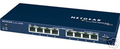 NetGear 8 port network hub