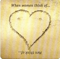 Hahn Beer Coaster - When women think of ...