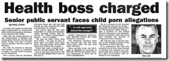 Health Boss charged.