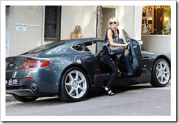 Daily Telegraph Lara Bingle Aston Martin