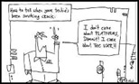 Gapingvoid.com : How to tell when your techie's been smoking crack ... I don't care about PLATFORMS, Dammit!  I care about THE USER!!