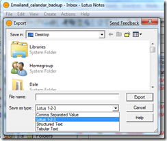 Lotus-Notes-Export-Options