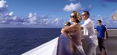 P&O Oceana - Deck view