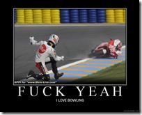 Bike bowling