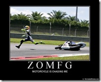 ZOMOG - Motorcycle is chasing me.