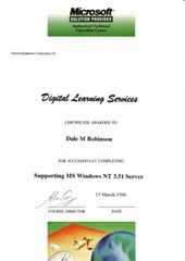 Supporting Windows NT 3.51 Server
