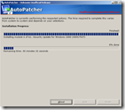 autopatcher - installing