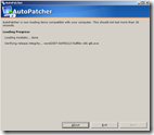 autopatcher - verifying patches