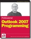 Outlook 2007 Programming - ISBN 0470049944