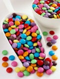 Smarties in a scoop.  Picture from Allposters.com