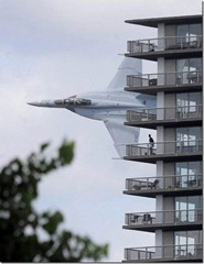 F-18 Hotel Fly Past