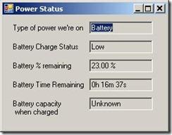 Power-Status