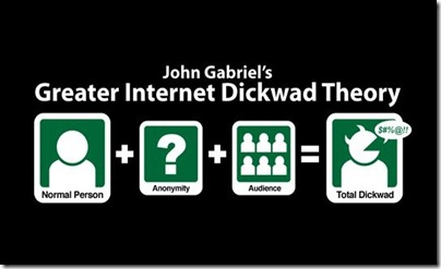 John Gabriel's Greater Internet Dickwad Theory