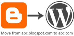 Blogger to WordPress image - courtesy of Digital Inspiration