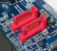 SATA motherboard ports
