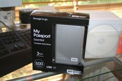 My Passport - 500GB drive