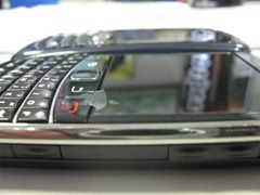 BlackBerry 9700 is thinner than BlackBerry 8300