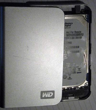 "How to open the Western Digital ""My Passport"" Drive  