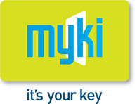 Myki Its Your Key Logo