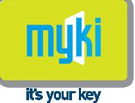 Myki Its Your Key Logo