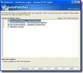 AutoPatcher - showing only 66 updates to apply.