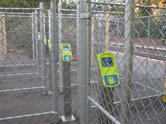 Mkyi High Speed Scanners at Jolimont Railway Station