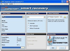 pc inspector - smart recovery