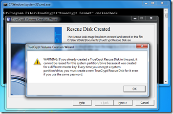 Truecrypt - Full Disk Encryption - No ISO check