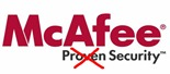 McAfee - Not Proven Security (image courtesy Lifehacker)