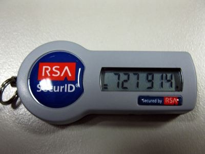 Inside a RSA SecurID tag | wisefaq com