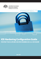 iOS Hardening Configuration Guide–Defence Signals Directorate