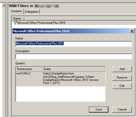 Group Policy and WMI