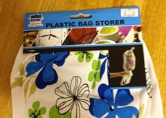 Plastic bag holder - 1