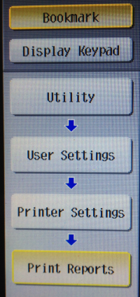 So where IS the Printer Configuration output page on a