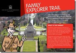 Shrine of Remembrance Family Explorer Trail picture