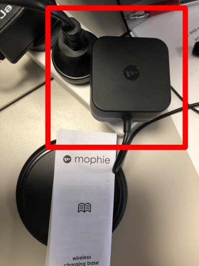 mophie charger plug