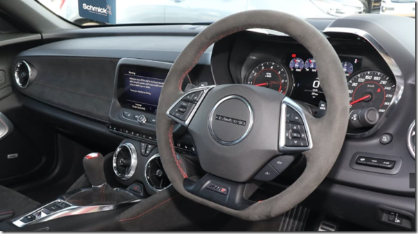 ZL1 Camaro - RHD dashboard