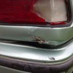 AE92 Corolla Sedan smashed tail light